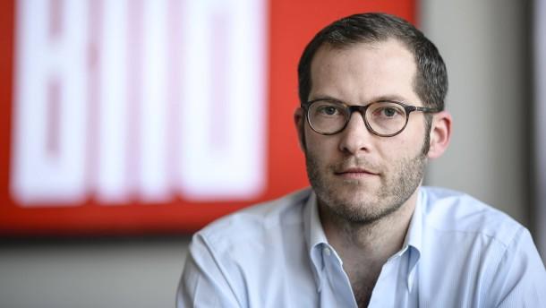 """""""Bild""""-Chefredakteur Reichelt befristet freigestellt"""