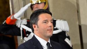 Neuer italienischer Regierungschef Renzi vereidigt