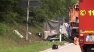 Mehrere Tote nach Unfall mit Müllwagen