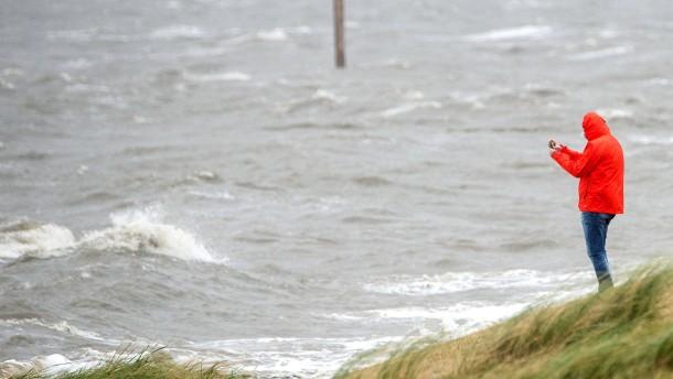Sturmfluten an der Nordseeküste