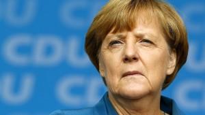 Für die CSU ist Merkel schuld