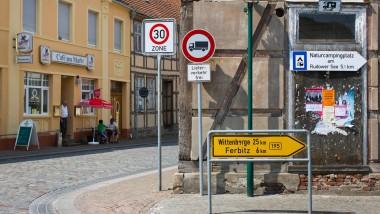 Ostdeutsche Kleinstadt statt westdeutsche Metropole: die Handwerker hängen an ihrem Zuhause