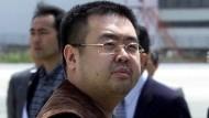 King Jong-nam wurde am Flughafen von Kuala Lumpur vergiftet.