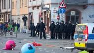 Polizei: Krawalle waren strategisch geplant