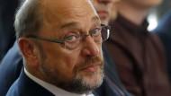 Hat deutlich an Beliebtheit eingebüßt: SPD-Kanzlerkandidat Martin Schulz