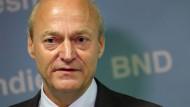 No risk, no fun - BND-Präsident Gerhard Schindler