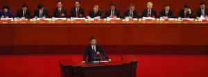 Chinas Präsident Xi Jinping am Mittwoch in Peking