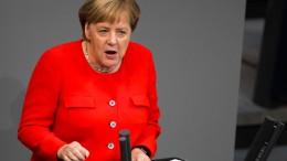 Das sagt Merkel über Bundeswehreinsätze in Syrien