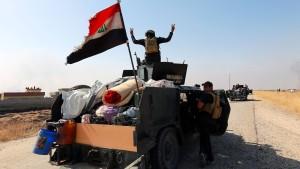 Koalition rückt Richtung Mossul vor