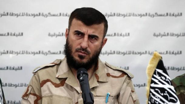 Islamistischer Rebellenführer in Syrien getötet