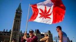 Kanada legalisiert Kiffen