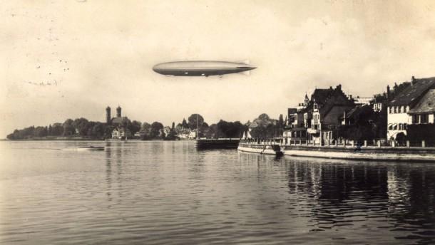 Ein Zeppelinflug, der Nationen zusammenbringt