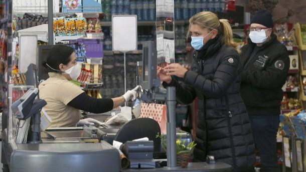 Kundenbegrenzung in Supermärkten ist rechtens