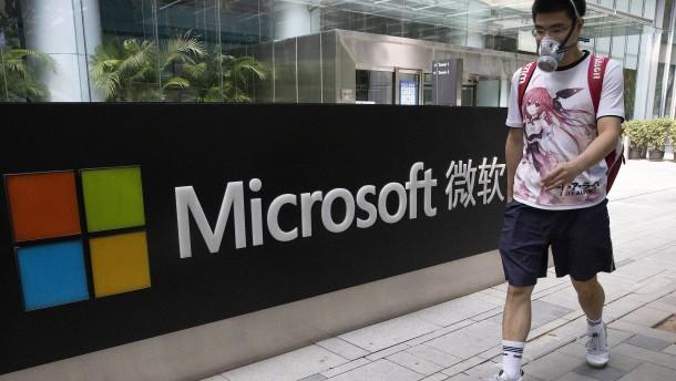 Warum Microsoft so einen guten Draht nach China hat