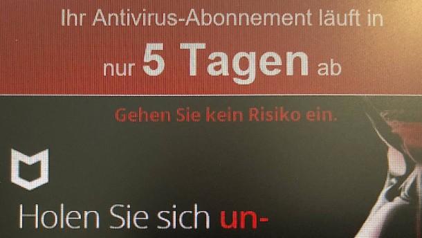 Weg mit dem Virenscanner!