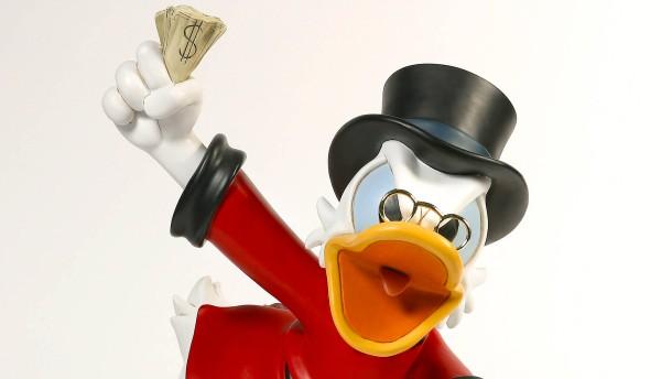 Wie Dagobert Duck zu seinem Vermögen kam