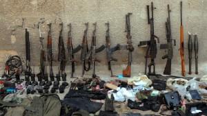 Merkel: Werden auf keinen Fall Waffen nach Syrien liefern