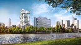 Prominenz für die Frankfurter Skyline