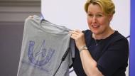 Bundesfamilienministerin Franziska Giffey engagiert sich gegen Antisemitismus