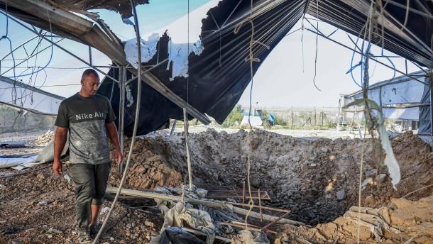 Israel feuert Raketen in Richtung Gazastreifen ab