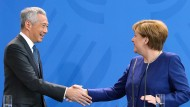 Bundeskanzlerin Merkel plädiert für mehr Freihandel