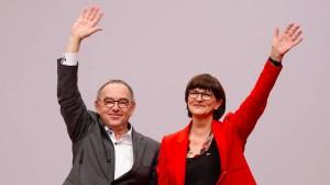 Kein Wahlkampf mit neuem SPD-Führungsduo
