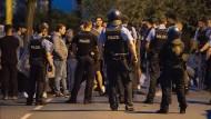 Polizeieinsatz in Darmstadt nach dem Schlossgrabenfest