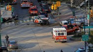 Die Lage in Manhattan ist noch unübersichtlich.