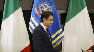 Italien rutscht in die Rezession