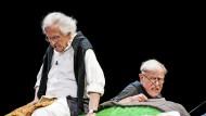 Claus Peymann spielt Thomas Bernhard: Wer steht hier in kurzen Hosen da?