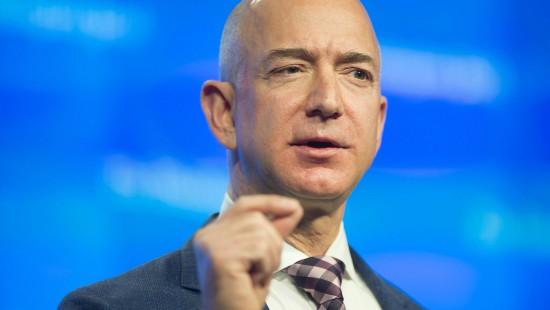 Bezos ist der reichste Mensch der Welt