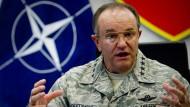Nato: Separatisten streben stärker zusammenhängendes Gebiet an