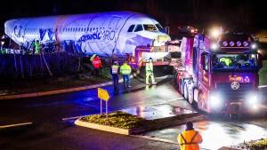 Wenn der Airbus im Kreisverkehr stecken bleibt