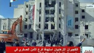 Viele Tote bei Anschlägen in Aleppo