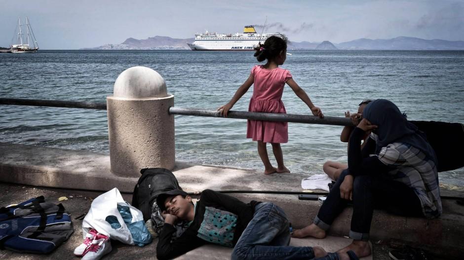 Die griechische Insel Kos