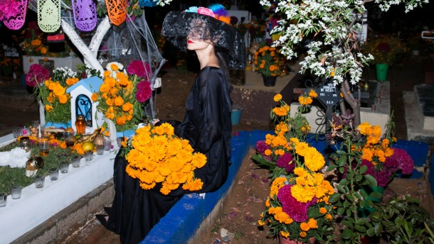 Modeshooting mit dem Tod