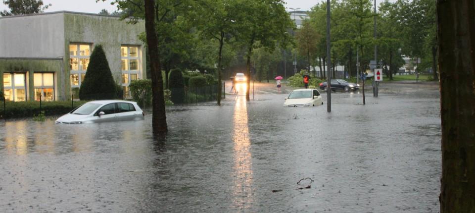 Münster: Mann ertrinkt in überflutetem Keller