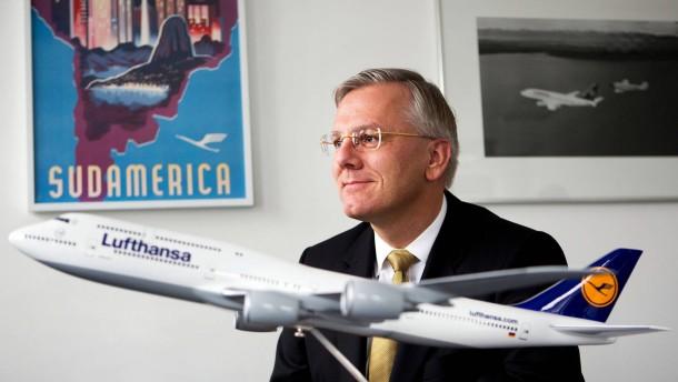 Christoph Franz - Der Vorstandsvorsitzende der Flugesellschaft Lufthansa stellt sich in Berlin den Fragen von Winand von Petersdorff.