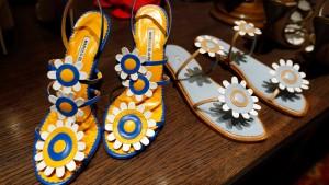 Manolo Blahnik debütiert auf der Fashion Week