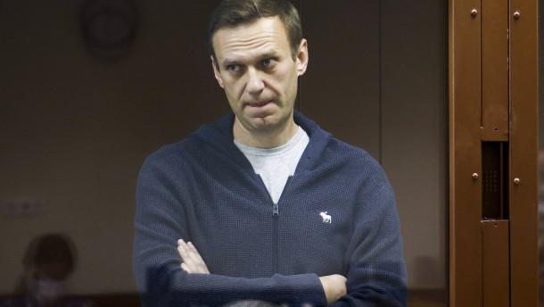 Nawalnyj tritt im Gefängnis in den Hungerstreik