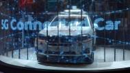 Bald auch in Deutschland? Ein vernetztes Auto mit 5G-Technologie an Bord.
