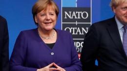 Merkel ist zufrieden mit Nato-Gipfel