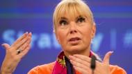 Am Dieselskandal war nicht alles schlecht, findet EU-Industriekommissarin Elzbieta Bienkowska (Archiv)