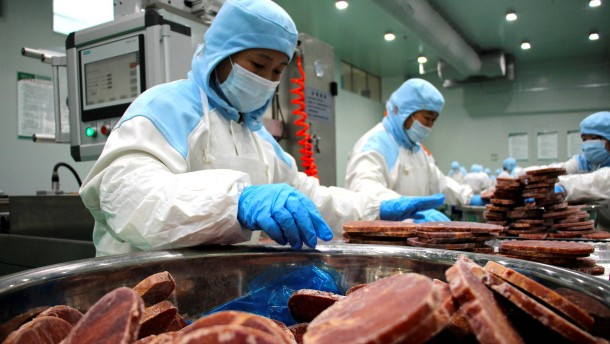 Chinas Exporte steigen um mehr als 20 Prozent