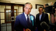 Wahlsieger in Großbritannien: Nigel Farage