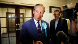 Brexit-Partei in Großbritannien stärkste Kraft