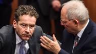 Euro-Finanzminister stellen Griechenland Ultimatum