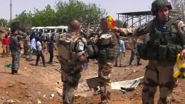 Ein Toter bei Angriff auf Blauhelm-Soldaten
