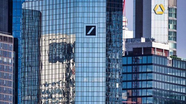 Deutsche hängt Commerzbank ab