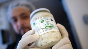 Die wohl erste syrische Käserei Deutschlands